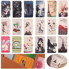 Lovely Design Flip PU Leather Case Cover Protection Skin For ZTE Blade A512 5.2""