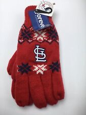 St Louis Cardinals Gloves Lined Knitted Winter Unisex NWT