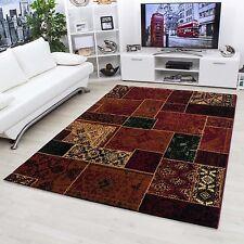 Designer Teppich Vintage Patchwork Orientalisch Carpet versch. Größe 0650 Red