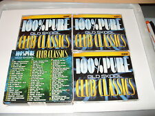 Pure Old Skool Club classics 100%  - (2003) 3 cd cds are Excellent condition