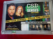 CSI: Senses The Game Includes Collectibles Insects UV Lights Cards