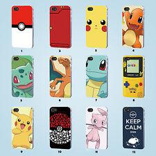Pokemon case iPhone 4S 5 5S 5C 6 6S SE Plus Samsung Galaxy S3 4 5 6 7 Edge Note