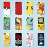 Pokemon case iPhone 4S 5 5S 5C 6 6S SE Plus Samsung Galaxy S3 4 5 6 7 Edge Note