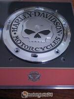 Harley Davidson Skull Derby Cover Deckel Kupplungsdeckel Twin Cam Evo 25441-04A