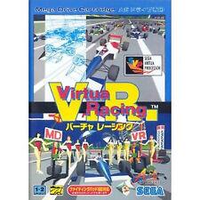 Virtua Racing  SEGA Mega Drive MD GENESIS Japan Virtua Racing V.R.