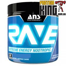 ANS RAVE 210G PINK LEMONADE EXTREME ENERGY NOOTROPIC 60 SERVE PRE WORKOUT POWER