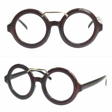 Blue Light Blocking Reading Glasses Vintage Round 46.5mm Full Rim +125 +150 +175