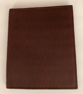 Marc Jacobs Passport Case/Wallet Brown Leather