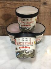 4 New Freeze Dried Food Cups - Mountain Standard - Red Rocks Scramblers Camping