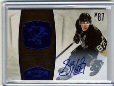 Sidney Crosby 2010 10-11 Panini Dominion Signatures Sapphire Auto /10  FREE S&H