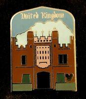 👑 HAMPTON COURT PALACE United Kingdom WDW Disney 2011 Hidden Mickey Pin 85614