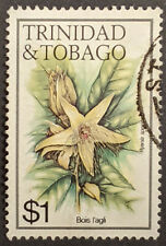 Stamp Trinidad and Tobago 1983 $1 Flowers Bois L'Agli Used