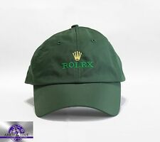 Original Rolex GREEN  Baseball Cap NEW ROLEX LOGO