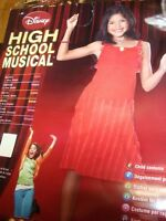"Disney HIGH SCHOOL MUSICAL "" GABRIELLA "" HALLOWEEN Costume * CHILD MEDIUM 8-10"