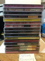 Random lot of 16 cds