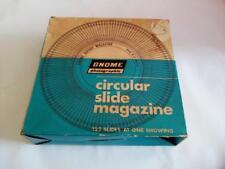 Circular Slides Magazine photographic Projectors Vintage