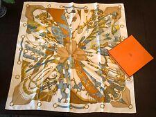 "Hermes Carre 90cm Silk Scarf ""Soleil de Soie"" by Caty Latham"