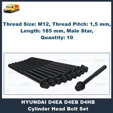 HEAD BOLTS KIT FOR HYUNDAI G6BA G6BV G6EA SANTA FE SONATA TIBURON TRAJET TUCSON