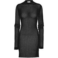 Acne Studios Women's Black Alca Net Show Knitted Dress SS16 Size M RRP 690$
