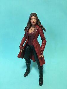 Hasbro Marvel Legends Scarlet Witch Avengers Figure Loose