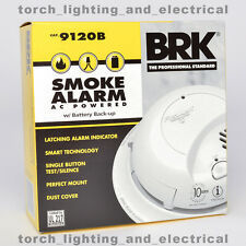 6-PACK BRK 9120B First Alert Smoke Alarm Detector Battery Backup 120V HARDWIRED