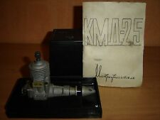 vintage ussr KMD 2.5 cc airplane modeling c/l engine russian motor diesel KMA