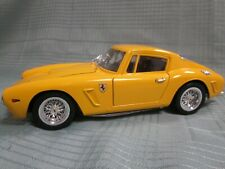 1/18 Very RARE Ferrari 1961 250 GT Berlinetta Yellow Jouef Opening Die-Cast NEW