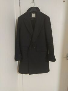 Billy Reid Double Breasted Coat Size M. Full Length Version Of The Bond Peacoat