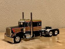 Dcp 1/64 Peterbilt  359 Flattop Caterpillar Motor Semi Tractor Only Farm Toy