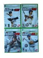 MLB 2K SPORTS Bundle 2K7, 2K8, 2K9 & 2K10 (Microsoft, Xbox 360) Video Games