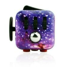 Sky Galaxy Fidget Cube Toy Anxiety Stress Relief Focus Attention Work Puzzle