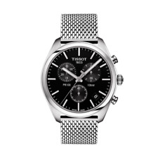 Reloj Watch Tissot T-Classic T1014171105101 Steel Silver Black hombre Men NEW