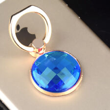 Bling Ring Stand Cell Phone Holder Universal iPhone Blue Sparkle