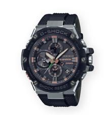 Authentic Men's G-Shock Casio G-Steel Tough Solar Black Watch GSTB100GA-1A