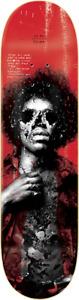 """Zero Skateboards Jimi Hendrix 27 Club 8"""" Jamie Thomas Skateboard Deck"""