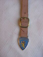 Vintage Sports Car Peugeot Company CUD England Key Watch Fob