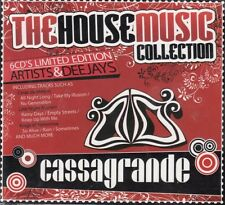 THE HOUSE MUSIC LTD EDITION COLLECTION - Artists & DeeJays 6 x CD Set - NEW B#Y