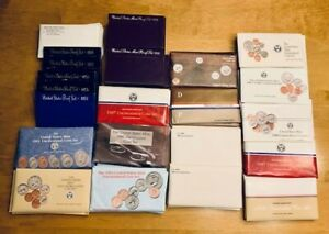 Uncirculated Mint & Proof Set Lot: 1970's, 1980's, 1990's - Pick any 5 You Want!