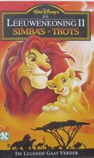 DE LEEUWENKONING 2  - SIMBA'S TROTS - VHS