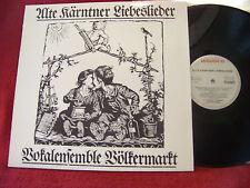 Alte Kärntner Liebeslieder  Vokalensemble Völkermarkt       Amadeo   LP
