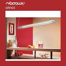 voltolux Colgante Lámpara Colgante 1442mm ACERO silikatgrün 28w 830k