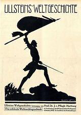 Pinetti artisti pubblicità per Ullstein-Verlag ad 1910