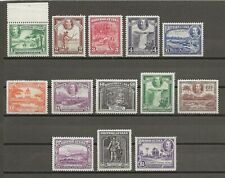 BRITISH GUIANA 1934-51 SG 288/300 MNH Cat £140