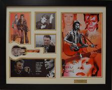 David Bowie Limited Edition Signed  Framed Memorabilia (w)