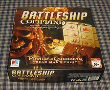 2006 Milton Bradley Battleship Command Pirates of the Caribbean Game Complete