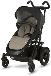 Micralite Twofold Carbon Pushchair With Built In Toddler Buggy Board