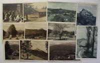 10 Ansichten vom Jeschken um 1920 Geografie Geographie Ortskunde Tschechien sf