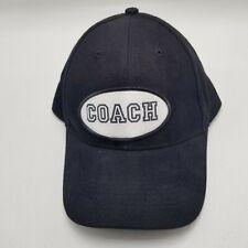 Coach Otto Hat Cap Black Adult Used Strapback B5