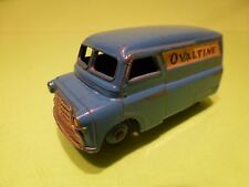 DINKY TOYS 481 BEDFORD 10CWT VAN OVALINE  - BLUE 1:43? - GOOD CONDITION