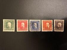 1912 Bosnia Herzegovina Austria Emperor Franz Josef Collection Of 5 Stamps (ES)